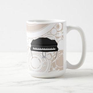Piano de cola eléctrico: modelo 3D: Taza de café