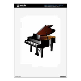 Piano de cola iPad 3 skins