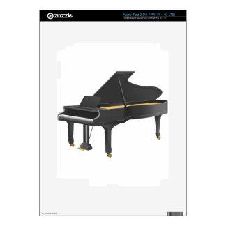 Piano de cola pegatina skin para iPad 3