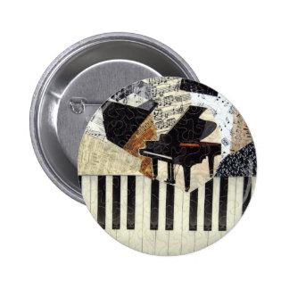 Piano de cola pin redondo 5 cm