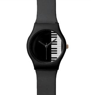 Piano de cola reloj