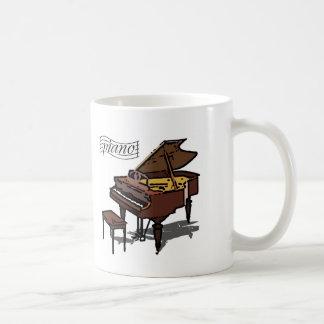 Piano de cola taza