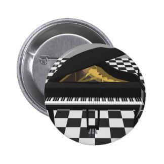 Piano de cola y suelo de baldosas: modelo 3D: Pin Redondo 5 Cm