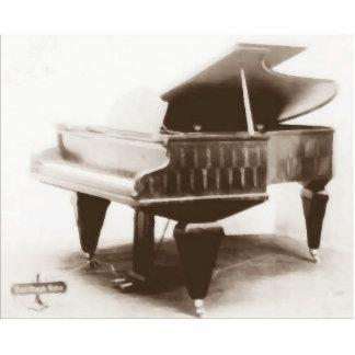 Piano de concierto de Berndl 1908 Esculturas Fotograficas