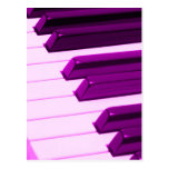 Piano de Fusha o teclado rosado del órgano Postal