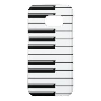 Piano de la música funda samsung galaxy s7