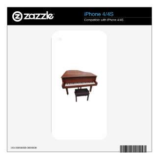 Piano Decal For The iPhone 4