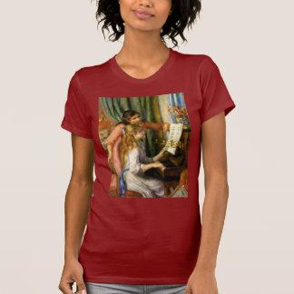 Piano del au de Pierre-Auguste Renoir - de Jeunes Camiseta