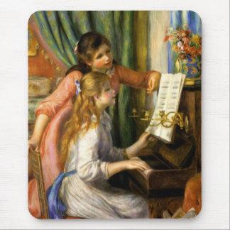 Piano del au de Pierre-Auguste Renoir - de Jeunes Tapete De Ratones