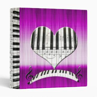 """Piano del corazón o teclado y notas del órgano carpeta 1"""""""