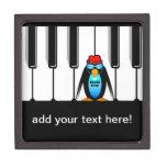 piano del hombre de los azules cajas de recuerdo de calidad