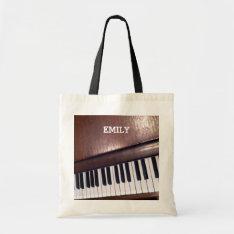 Piano Design Tote Bag at Zazzle