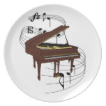 Piano Dinner Plates