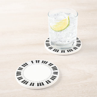 Piano - drink coaster