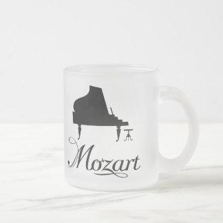 Piano Drinkware helado regalo de Mozart para el Tazas