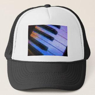 Piano Electric Blue Trucker Hat