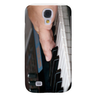 piano electric left hand playing keys music design galaxy s4 cover