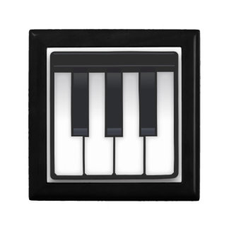 Piano Emoji Jewelry Box