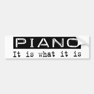 Piano es pegatina para auto