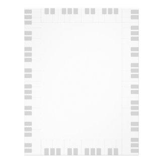 Piano frame letterhead