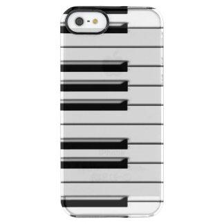Piano Funda Clear Para iPhone SE/5/5s