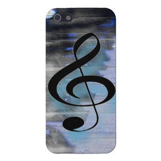 Piano Gclef iPhone 5 Carcasa