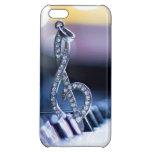 Piano Gclef iPhone 5C Cases