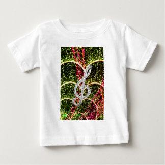 Piano Gclef Symbol Baby T-Shirt