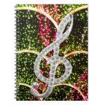 Piano Gclef Symbol Journals
