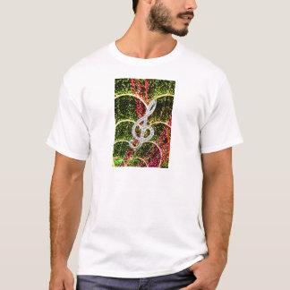 Piano Gclef Symbol T-Shirt