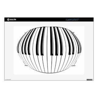 Piano Globe Laptop Skin