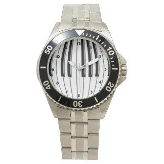 Piano Globe Wristwatch