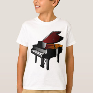 piano gloss black T-Shirt