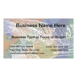 piano hands invert over orange guitar neck hands business card