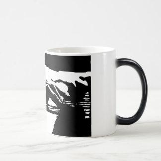 Piano Hands Morphing Mug