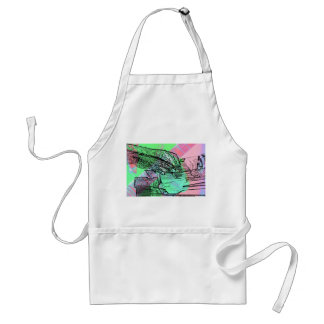Piano hands over saturated guitar hand neck aprons