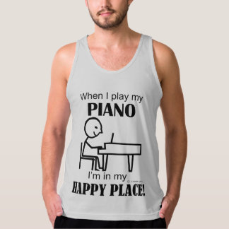 Piano Happy Place Tank Top