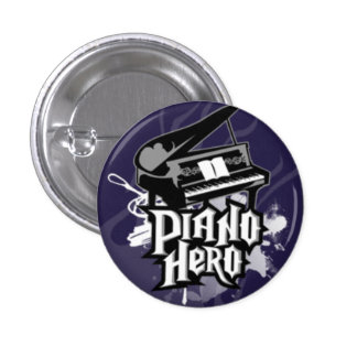 piano-héroe pin