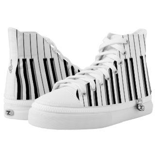 Piano High-Top Sneakers