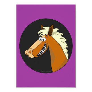 Piano Horse Cards