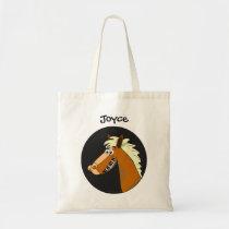 Piano Horse Customizable Kids Reusable Tote Bag