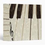Piano & I_ 3 Ring Binder