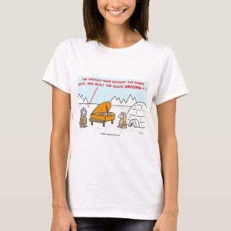 piano igloo Eskimoes T-Shirt