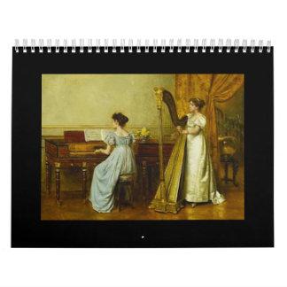 Piano in Art, 2017 Calendar