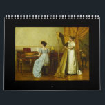 "Piano in Art, 2018 Calendar<br><div class=""desc"">The 2018 Piano in Art Calendar is designed with a different piece of art for each month! Every artwork has a musical theme in mind. Makes a great gift for a piano student,  piano teacher,  or a lover of music and art.</div>"