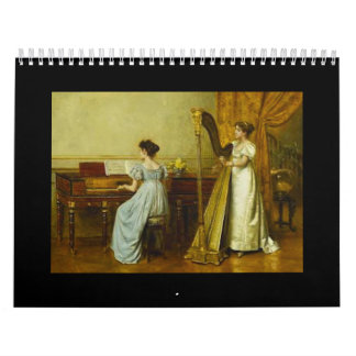 Piano in Art, 2018 Calendar