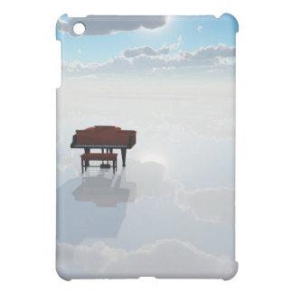 Piano in dramatic white landscape iPad mini case