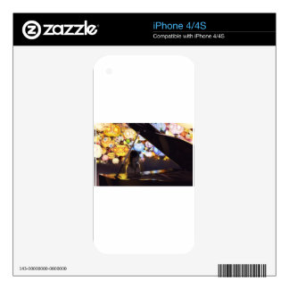 Piano In The Dark Decal For The iPhone 4S