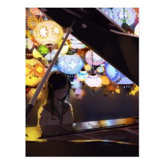 Piano In The Dark Postcard