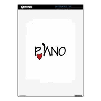 Piano iPad 2 Calcomanías